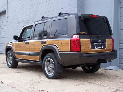 - Jeep Commander Woody Kit
