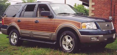 Pt Woody Quot Ford Expedition Quot Wood Styling Kit