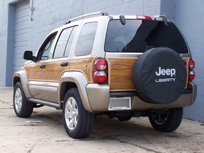 "Our Jeep™ Liberty ""Woody"" Kit recalls those great ""wood"" Wagoneers of the  past that started the whole SUV movement. The timeless design and long  history of ... - Jeep Liberty Woody Kit Photo Page"