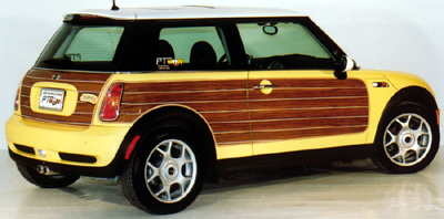 Pt Woody Quot Bmw Mini Cooper Woody Styling Kit Quot