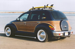 Wood Grain Trim To Provide You With A Choice Match Your Pt Woody Or Other The Spare Tire Cover Will Require Painting Cruiser